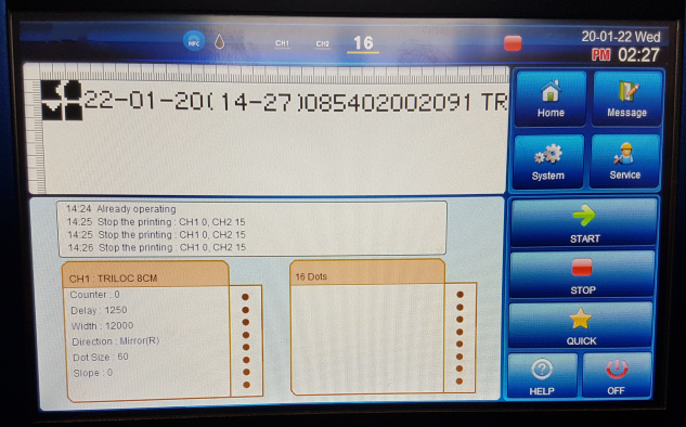 Cm Lcp Screen