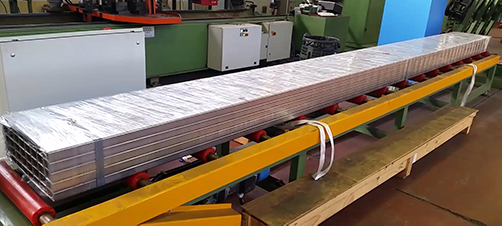 Foliewikkelen Lange Producten
