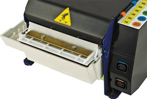 Papierplakband dispenser Lapomatic 200 detail